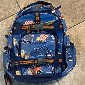 "Like New ""Nicholas"" Pottery Barn Backpack"